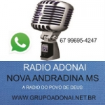 Logo da emissora Rádio Adonai Web