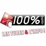 Logo da emissora 100% Radio 92.4 FM