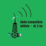 Logo da emissora Rádio Comunitária Milênio FM