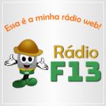Logo da emissora Rádio F 13