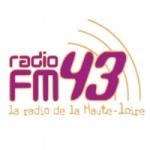 Logo da emissora FM43 102 FM