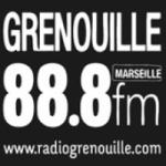 Logo da emissora Grenouille 88.8 FM
