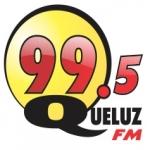 Logo da emissora Rádio Queluz 99.5 FM