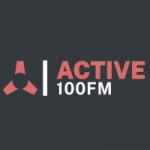 Logo da emissora Radio Active 100 FM