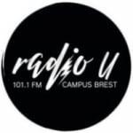 Logo da emissora Radio U 101.1 FM