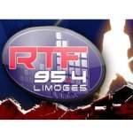 Logo da emissora RTF 95.4 FM