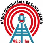 Logo da emissora Radio Comunitária De Santa Maria 98.0 FM