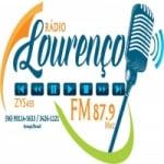 Logo da emissora Rádio Lourenço 87.9 FM