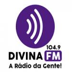 Logo da emissora Rádio Divina FM