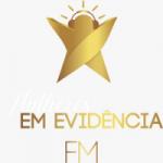 Logo da emissora Rádio Mulheres Em Evidência FM