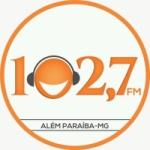 Logo da emissora Rádio 102.7 FM