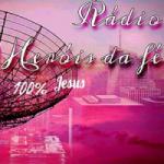 Logo da emissora Rádio Heróis da Fé