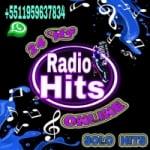 Logo da emissora Rádio Hits