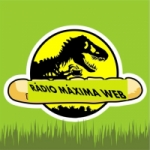 Logo da emissora Rádio Máxima Web