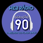 Logo da emissora Web Rádio Geração 90