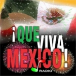 Logo da emissora Que Viva México Radio