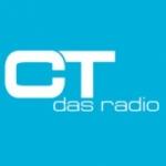 Logo da emissora CT das Radio 90.8 FM