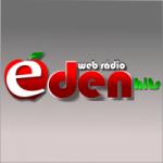 Logo da emissora Rádio Éden Hits