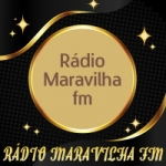 Logo da emissora Rádio Maravilha FM