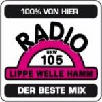 Logo da emissora Lippewelle Hamm 105 FM