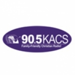 Logo da emissora KACS 90.5 FM