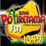 Logo da emissora Rádio Nova Potiretama 104.9 FM