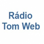 Logo da emissora Rádio Tom Web