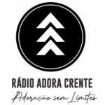 Logo da emissora Rádio Adora Crente