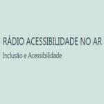 Logo da emissora Rádio Acessibilidade No Ar
