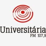 Logo da emissora Rádio Universitária 107.9 FM