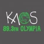 Logo da emissora KAOS 89.3 FM