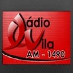 Logo da emissora Rádio Vila 1490 AM
