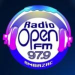 Logo da emissora Radio Open 97.9 FM