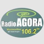Logo da emissora Radio Agora 106.2 FM