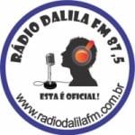 Logo da emissora Rádio Dalila 87.5 FM