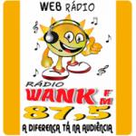 Logo da emissora Rádio Wank FM