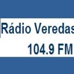 Logo da emissora Rádio Veredas 104.9 FM