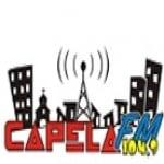 Logo da emissora Rádio Capela 104.9 FM