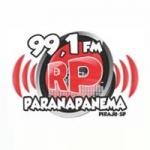 Logo da emissora Rádio Paranapanema 99.1 FM