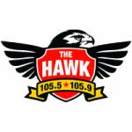 Logo da emissora Radio KTHK 105.5 FM