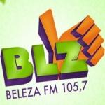 Logo da emissora Rádio Beleza 105.7 FM