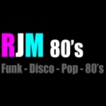 Logo da emissora RJM Radio 80's