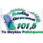 Logo da emissora Radio Grevena 101.5 FM
