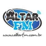 Logo da emissora Rádio Altar fm