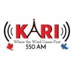 Logo da emissora Radio KARI 550 AM