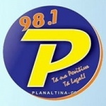 Logo da emissora Rádio Positiva 98.1 FM