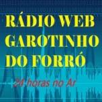 Logo da emissora Rádio Web Garotinho do Forró