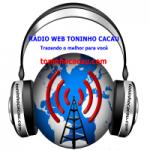 Logo da emissora Rádio Web Toninho Cacau