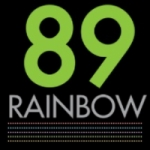 Logo da emissora Radio Rainbow 89 FM