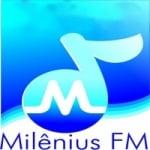 Logo da emissora Rádio Milênius FM